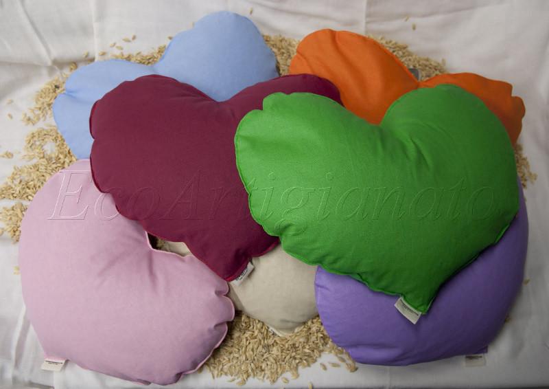 ecoartigianato cuscini cuore