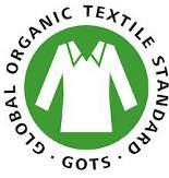 Il logo della certificazione GOTS