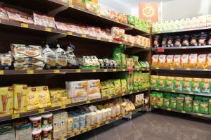 La vasta scelta di prodotti per celiaci, per intolleranze e biologici