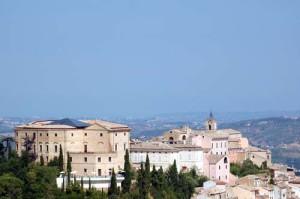 Il panorama di Loreto Aprutino, in provincia di Pescara