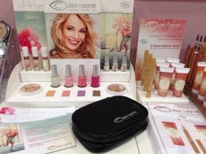 Alcuni cosmetici biologici disponibili in negozio