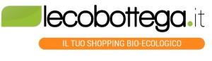 Il logo del negozio di prodotti biologici ed ecologici
