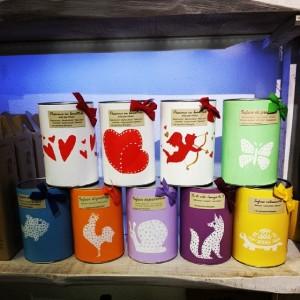 Una selezione dei prodotti disponibili a La Cardellina