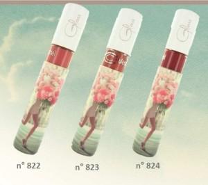 Ecco i tre gloss della nuova linea di Couleur Caramel