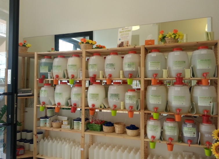 Saponi natura cosmetici naturali e detersivi ecobio a roma - Detersivi naturali fatti in casa ...