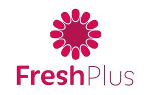 Il logo di FreshPlus, partner dei cosmetici freschi Ringana