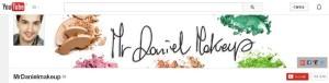 La home page di MrDanielMakeup