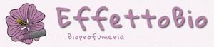 Il logo della bioprofumeria EffettoBio di Roma