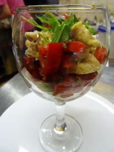 Uno dei piatti che potete gustare al ristorante vegano di Udine