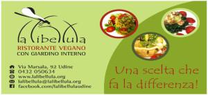 Il logo del ristorante vegano La Libellula
