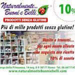 prodotti bio e senza glutine roma