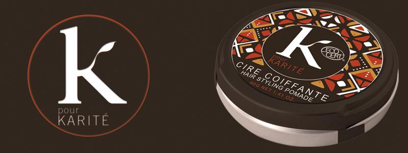 Uno dei prodotti per capelli K pour Karitè