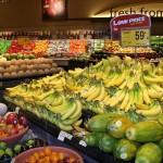 Prodotti biologici nei supermercati