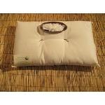 Cuscini in cotone naturale, pula di farro o pula di miglio: beECO