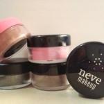 Ombretti Neve Cosmetics: i miei 5 preferiti